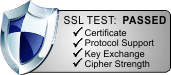 SSL TESTED - PASSED